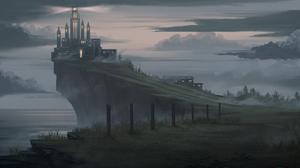 Anime Yurichtofen Cliff 2000x924 wallpaper