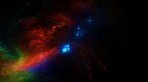 Photoshop Digital Art Universe Galaxy Stars Render Colorful 3333x2000 Wallpaper