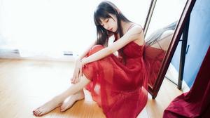 Asian Dress Barefoot Women 4032x2690 Wallpaper
