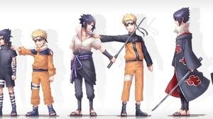 Naruto Uzumaki Sasuke Uchiha 5112x1206 wallpaper