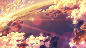 Cloud Earth Light Scenery Sea Sky Sunlight Sunset 2953x1240 Wallpaper