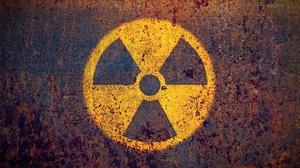 Logo Radioactive Texture 3872x2581 wallpaper