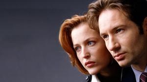 The X Files Dana Scully Fox Mulder David Duchovny Gillian Anderson TV Series 3000x2141 Wallpaper