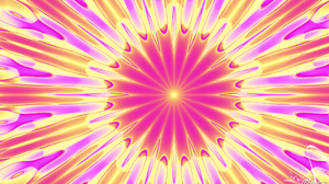 Artistic Colors Digital Art Kaleidoscope Pattern Pink Purple Yellow 1920x1080 Wallpaper