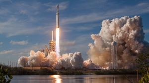 Falcon Heavy Lift Off Rocket Spacex 3000x2000 Wallpaper