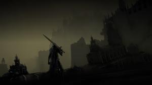 Dark Dark Souls Iii Sword Warrior 3840x2160 Wallpaper