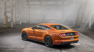 Car Ford Ford Mustang Muscle Car Orange Car Vehicle 6611x4245 Wallpaper