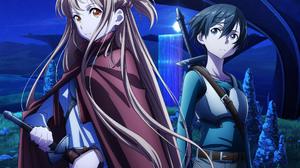 Anime Girls Anime Boys Sword Art Online Yuuki Asuna Kirigaya Kazuto 2000x2670 Wallpaper