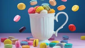 Macaron Sweets 4910x3273 Wallpaper