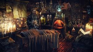 Dark Horror Man 1920x1200 Wallpaper