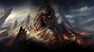 Disturbed Band Fantasy Hard Rock Metal Music Nu Metal 1600x1191 wallpaper