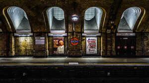 Railway Station Architecture Underground London England 500px 2000x1283 Wallpaper
