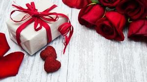 Flower Gift Red Flower Rose 3661x2453 Wallpaper
