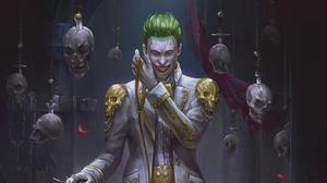 Joker Batman 3508x1973 Wallpaper
