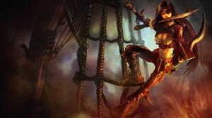 Katarina League Of Legends 2560x1440 Wallpaper
