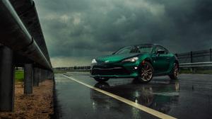 Car Green Car Sport Car Toyota Toyota 86 Vehicle 3598x2400 wallpaper