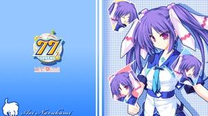 Sevens And Two Stars Meet Again Narukami Aoi Anime Series Anime Girls Purple Hair Twintails Long Hai 1920x1200 wallpaper