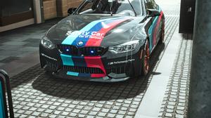 BMW Police Cars Fall 1080x1920 Wallpaper