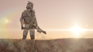 Clone Trooper 3840x2160 Wallpaper