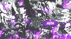 Black Clover Collage Manga Comics Asta 1920x1080 Wallpaper
