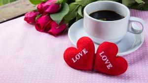 Flower Cup Heart Love 5190x3460 Wallpaper