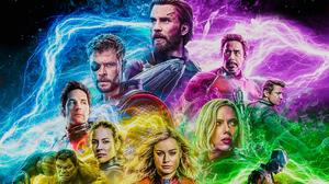 Captain America Thor Iron Man Ant Man Wasp Marvel Comics Hawkeye Hulk Black Widow Captain Marvel Neb 2031x1142 Wallpaper