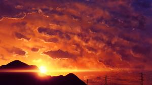 Cloud Peace Sky Sunset Sunshine 1920x1373 Wallpaper