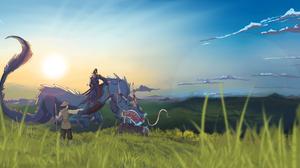 Dragon Man 5788x2894 Wallpaper