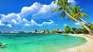 Island Tropical Beach 3840x2400 Wallpaper