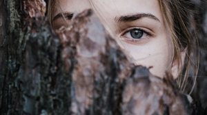 Women Eyes Blue Eyes Covered Face 1920x1439 Wallpaper