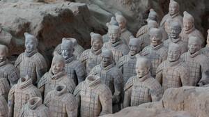 Terracotta Warriors China Historical Relic Historic 5760x3840 wallpaper
