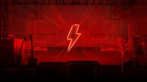 Acdc Rock Bands Rock Music Power Up Pwr Up Music Red Guitar Stage Shots Concerts 1920x1080 Wallpaper