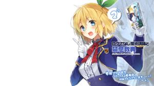 Rokudenashi Majutsu Koushi To Akashic Records Anime Girls Lumia Tingel 1920x1200 Wallpaper
