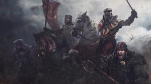 Armor Banner Horse Knight Warrior 1920x1260 Wallpaper
