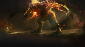 Balrog Lord Of The Rings Demon Gandalf Lord Of The Rings Wizard 2050x1080 Wallpaper