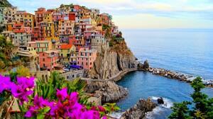 Cinque Terre Italy Liguria Manarola 5288x3500 Wallpaper