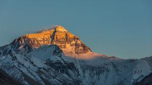 Mount Everest Mountains Clear Sky Sunset 6720x4480 wallpaper