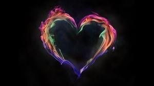 Flame Love Colors 6000x4000 wallpaper