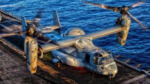 Military Bell Boeing V 22 Osprey 3279x2020 Wallpaper