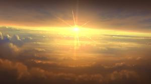 Cloud Sunset Sunshine 1920x1143 Wallpaper