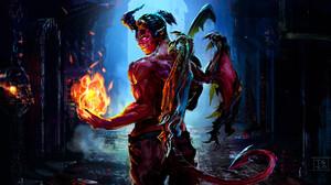 Demon Magic 1920x1356 Wallpaper
