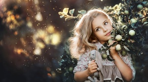 Blonde Child Girl Little Girl 4000x2670 wallpaper