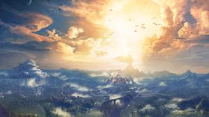 Video Game The Legend Of Zelda Breath Of The Wild 3000x1880 wallpaper