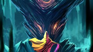 Gustavo Arteaga Digital Art Fantasy Art Wizard Magic 1891x2607 Wallpaper
