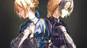 Artoria Pendragon Jeanne D 039 Arc Fate Series Ruler Fate Grand Order Saber Fate Series 2480x1940 Wallpaper