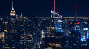City Lights Lights Night 2000x1333 Wallpaper