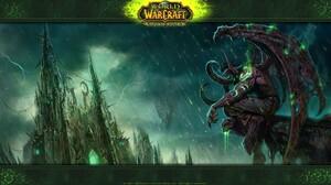 World Of Warcraft World Of Warcraft The Burning Crusade Illidan Stormrage Video Games 1920x1080 Wallpaper