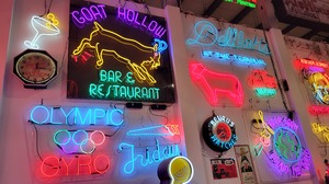 Neon Neon Sign Art Installation Photography Museum 4032x2268 Wallpaper