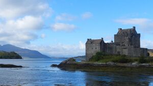 Man Made Eilean Donan Castle 3944x1878 Wallpaper