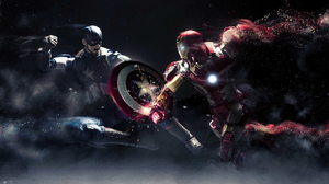Captain America Iron Man 2560x1440 Wallpaper
